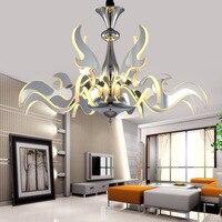 New Arrival LED Chandelier Light Modern Hanging Lustres Lamp Pendant Bedroom Living Room Drop Indoor Lighting