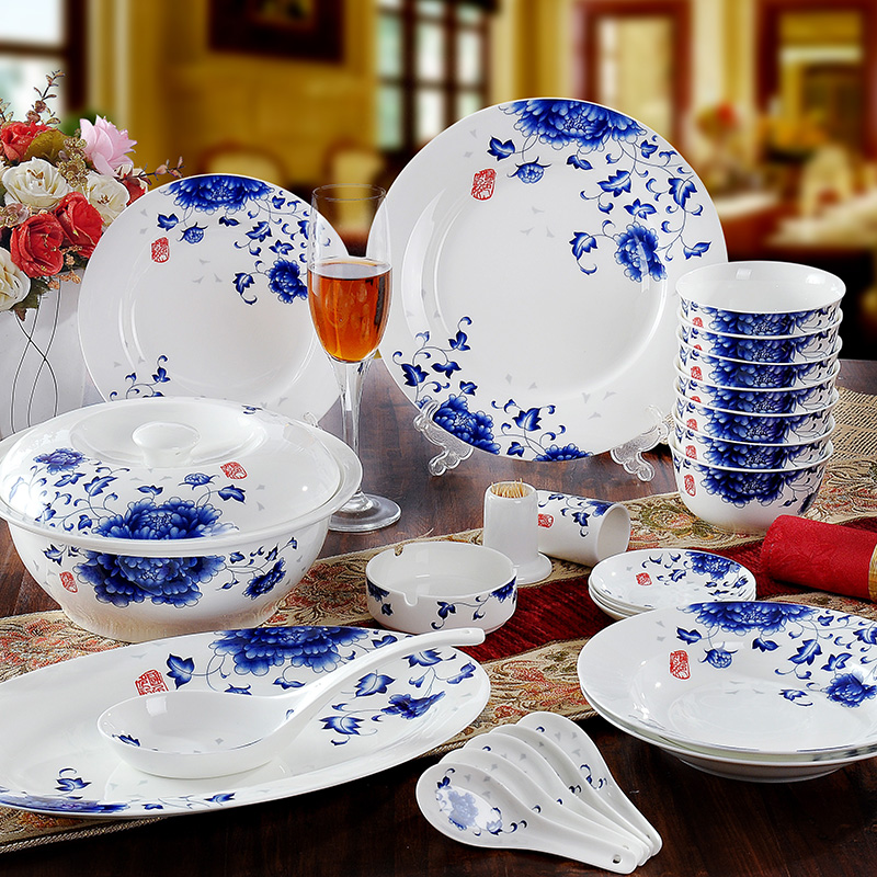 bone china dinner set dinner set bone china country color scene china