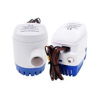 DC Automatic Bilge Water Pump 12V 24V 1100GPH For Submersible Auto Pump With Float Switch Sea