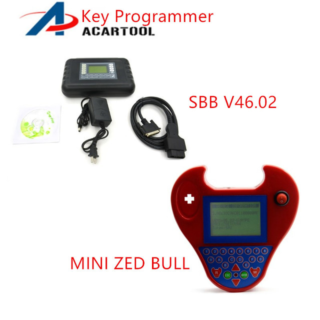 US $103 0 |Professional Key Programming Tool MINI Zed Bull Auto Transponder  Key Maker+Silca SBB Key Programmer V33 02 Multi Language-in Auto Key