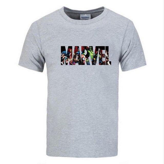 Marvel футболка с короткими рукавом