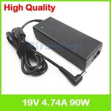 19 V 4.74A 90 Watt laptop ladegerät netzteil für Asus X53S X53T X53U X53X X53Z X54 X54C X54F X54H X54K X54L X54X X55 X550 X550A