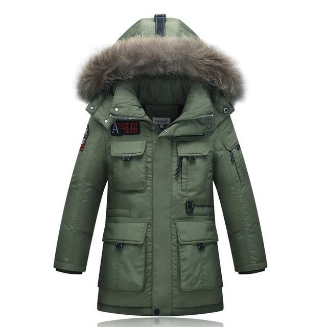 Aliexpress.com : Buy Winter Boys Parkas Coat 2017 New Casual ...