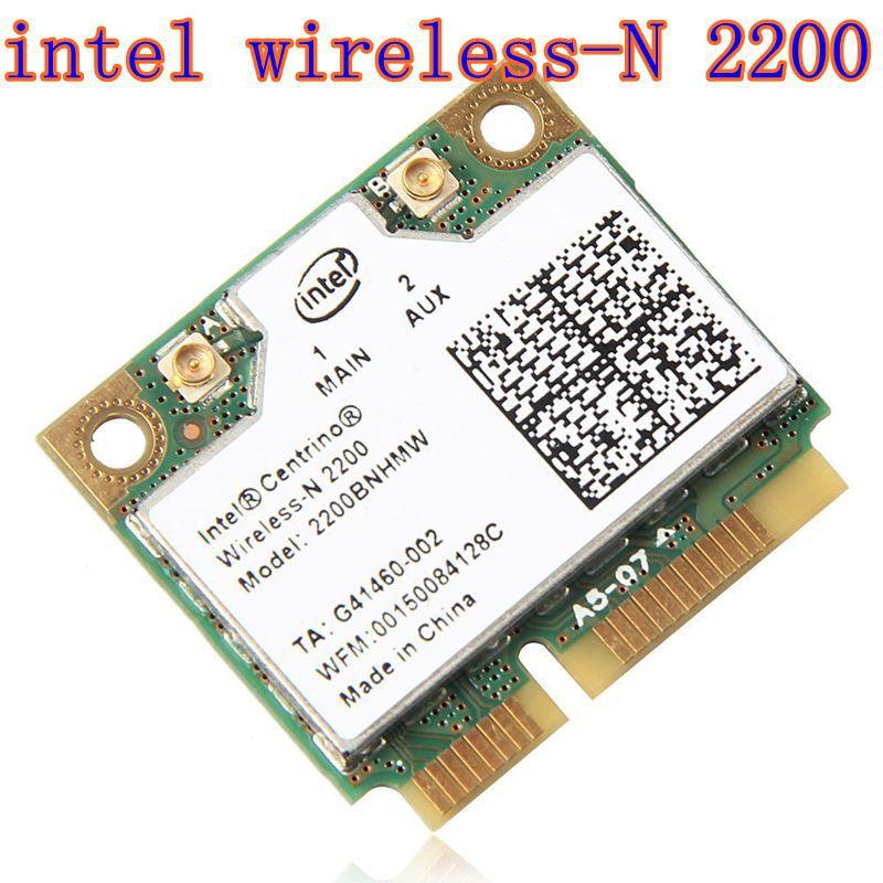 Intel Centrino Wireless-N 2200 2200BNHMW 802.11b/g/n, 300 Mbps 2x2, Single-band Wi-Fi Card(China)