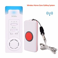 Wireless Calling System Home Care Alert Receiver Call Transmitter Bell Button For Elderly Patient The Disabled