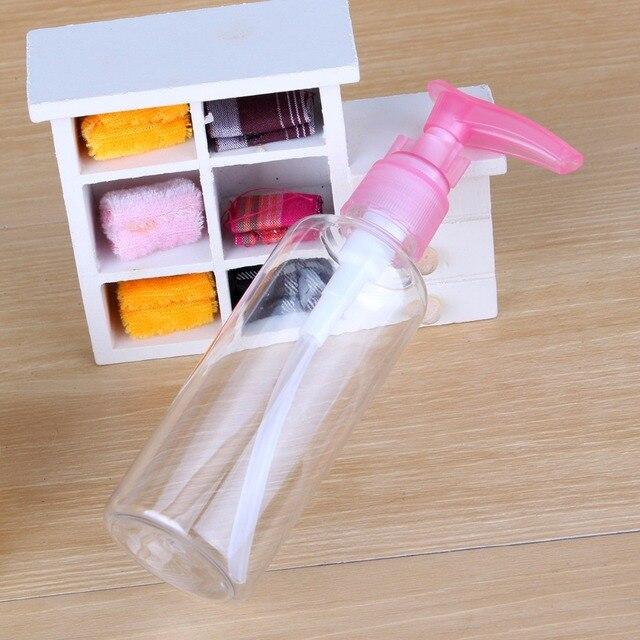 Bottiglia ricaricabile Protable 75ML/100ML sapone Shampoo lozione schiuma acqua plastica pompa pressata bottiglia Spray bottiglia riutilizzabile