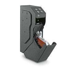 총 안전 상자 총 암호 조합 안전 상자 보안 키로 디지털 코드 금고 고품질 강철 Strongbox