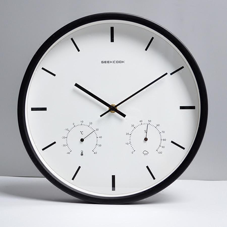 Fesselnd Creative Hanging Metal Wall Clock Modern Simply Decorations Living  Room Wanduhr Wall Mounted Clocks Wanduhren