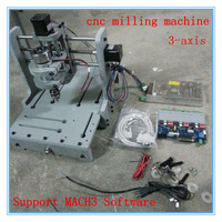3 Axis T type Screw Router Woodwork Machines Small Cnc Milling Engraving Machine 2030 Pvc Diy Support Mach3 Software