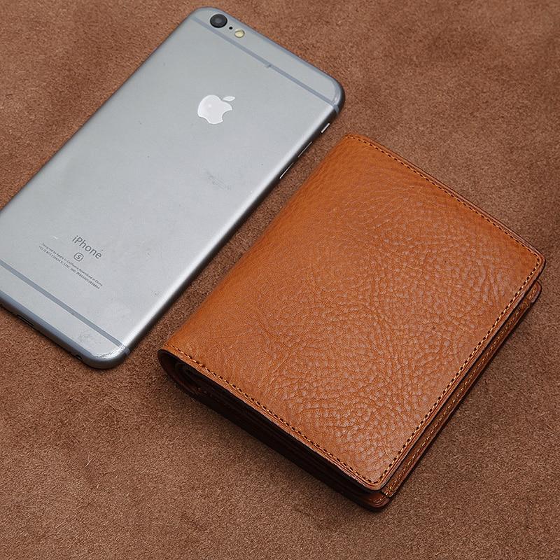 Bagaj ve Çantalar'ten Cüzdanlar'de LANSPACE hakiki deri Japonya erkek cüzdan İtalya deri çanta kısa bozuk para çantaları tutucular'da  Grup 1