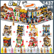 Minicitye legois City Building 90000-90007 Ninjago Dragon Legoe City อิฐของเล่นสำหรับเด็ก(China)