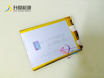 10pcs SD 906190 3.7v 6500mah smart rechargeable cell phone battery lithium polymer battery