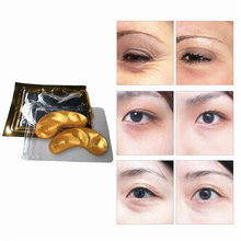 Under the eyes Crystal Collagen Eye Mask Fade Dark Circles whey protein protei colageno patches bioaqua stripe ojeras eye cream singuladerm contour elimina ojeras 15ml