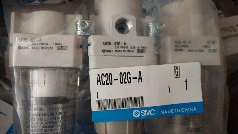 //AC20-02G-A nouveau original et authentique SMC FRL avec table
