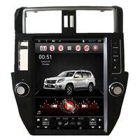 12,1 Тесла вертикальный Android автомобильный мультимедийный Стерео gps навигации DVD для Toyota Prado 150 2010 2011 2013 2014 2016 2015 2012