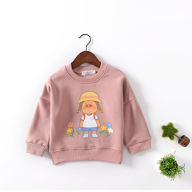 2016 New Children Sweaters  Boys Girls Sweater with Hooded Wool Cotton Knitwear Winter Infant Sweater Kids Clothing