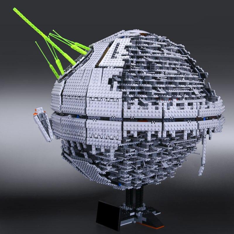 Bausteinziegelsteine lepine Sterne Serie Krieg 10143 Tod Gesetzt zweite generation LegoINGlys Modell...