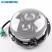 HJYUENG 7 pouces rond phare anneau de montage support 1994 13 pour Harley 7 pouces moto phare support