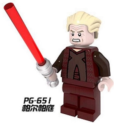 PG651 20Pcs Building Blocks Star Wars Palpatine Darth Maul With Lightsaber Avengers Model Bricks Children Gift Toys