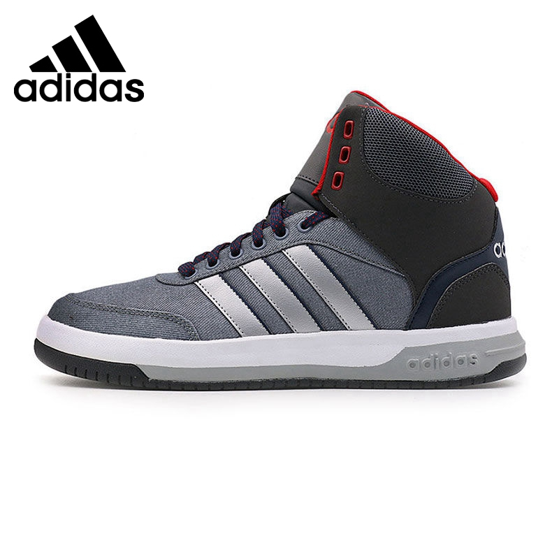 Original New Arrival  Adidas BLOCK MID Men's Basketball Shoes Sneakers original li ning men professional basketball shoes
