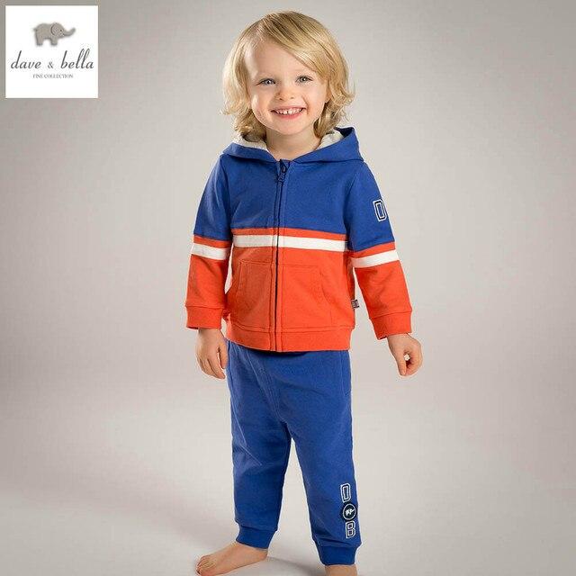 44fd04bd2a11e DB4752-1 davebella printemps bébé garçons rouge rayé vêtements set garçons  beau vêtements enfants boutique