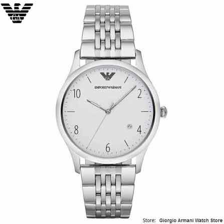 Original Giorgio Armani Watch Men's Watches Fashion Watch Stainless - Men's Watches