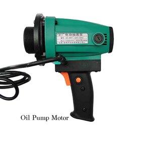 Image 2 - 1.1KW Chemical Corrosion Resistant Oil Transfer Pump RPP Plastic Barrel Pump Hydrochloric/Sulphuric acid Electrical Liquid Pump