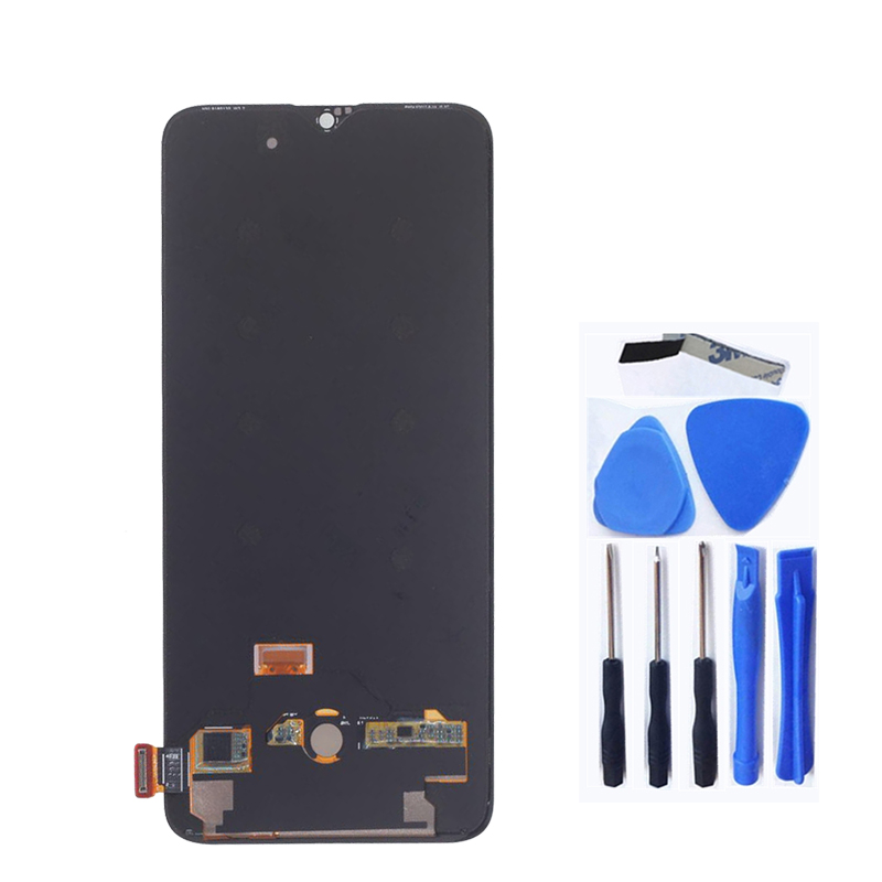 Image 2 - 6.41 inches for Oneplus 6T LCD display + touch screen replacement kit AMOLED original LCD display 2340 * 1080 glass screen+tools-in Mobile Phone LCD Screens from Cellphones & Telecommunications