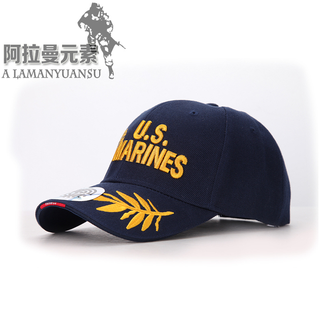 T.S.N.K Military Fans US MARINES Baseball Cap Tactical Cotton Mens Brand Cap  Fashion Snapback Baseball Caps 39e5fa8e7f18