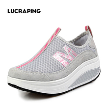 Fashion casual shoes women swing platform female zapatos chaussures ladies trainers fitness  women shoes ankle boot