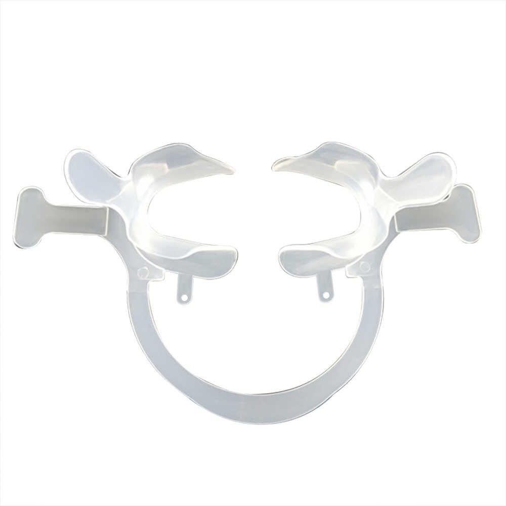 שיניים הלחי שפתיים מפשק פה פותחן C-צורת עם ידית לבן פה פתיחת מכשיר אוראלי טיפול גדול/קטן