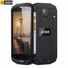 "AGM A8 IP68 Waterproof RAM 3GB+ROM 32GB 5.0"" Android 7.0 Qualcomm MSM8916 Quad Core 4050mAh 4G Network OTG NFC Smartphone"