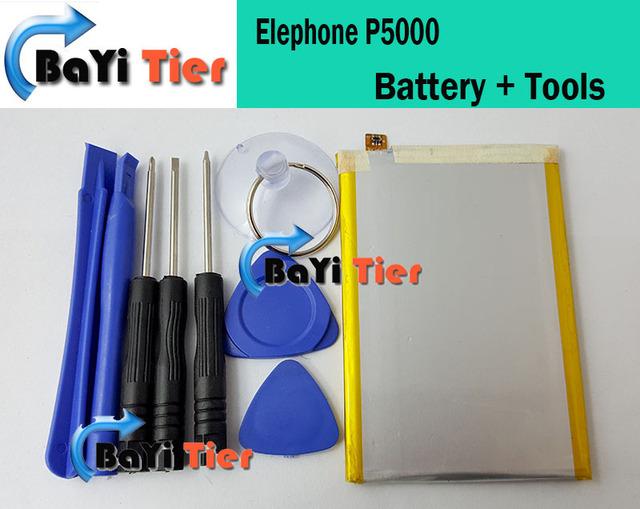 Elephone P5000 Batería 5350 mAh 100% de litio-ion Batería de respaldo para Smartphone Elephone P5000 + en stock + herramientas