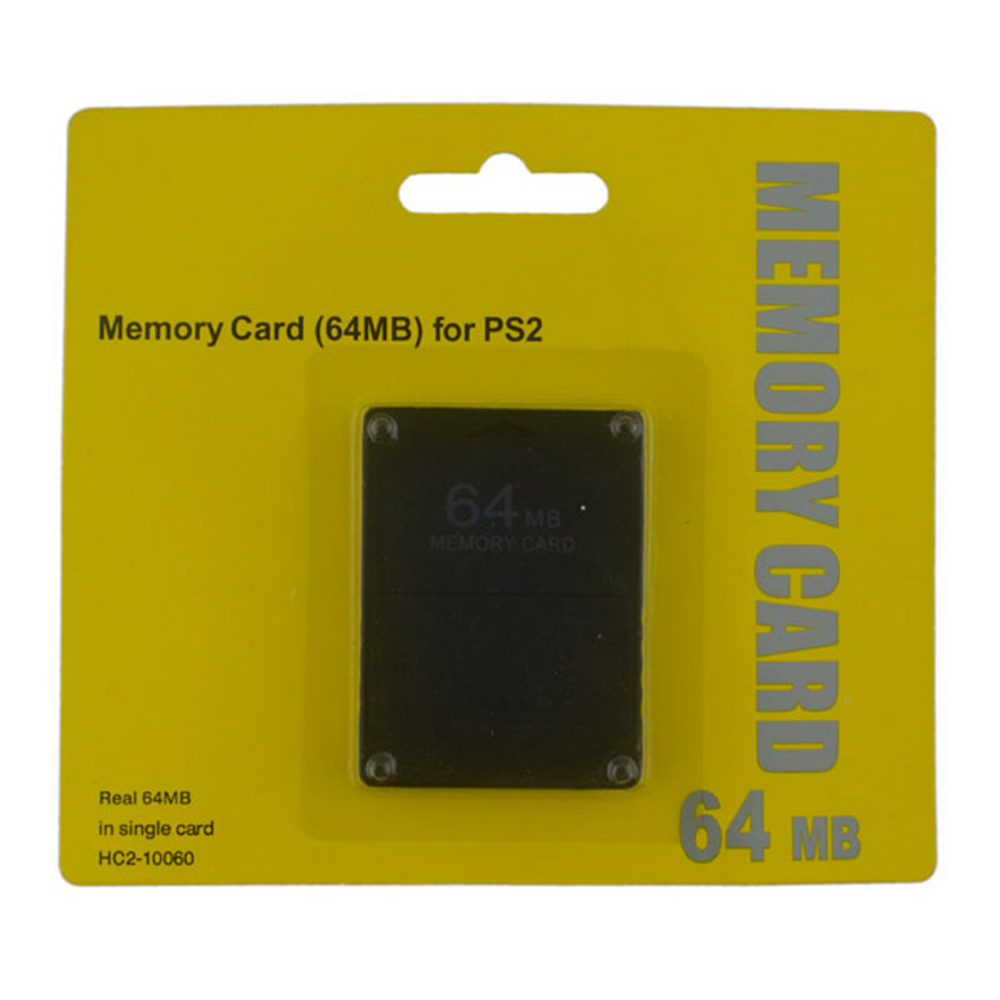100pcs high quality 64MB Memory Card for PS2 for Playstation 2