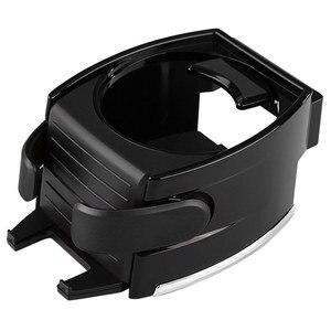 Image 5 - Bekerholder support pour voiture, accessoire noir pour voiture, gobelet pour boissons, grille de ventilation porte bouteille pour bouteilles deau, support de téléphone