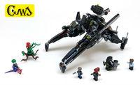 Lepin 07056 775 Sztuk Serii Movie LegoINGlys Super Heroes Batman The Scuttler Bat Kosmicznym Ustawić MOC Bloki Cegieł Zabawki 70908
