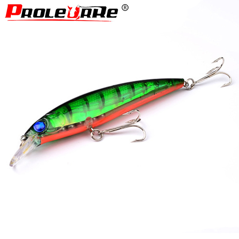 Proleurre  Floating Minnow Fishing Lure 115mm 13g Artificial Hard Bait Fishing Wobbler Japan Pesca Crankbait Fishing Tackle