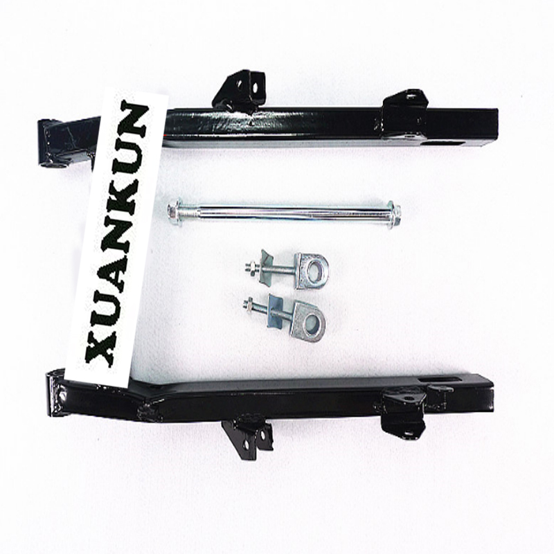XUANKUN Motorcycle Parts Modified Flat Fork CG125 Lengthened 3 Cm Flat Fork Rear Axle and Rear Axle Sleeve стоимость