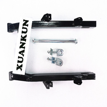 XUANKUN Motorcycle Parts Modified Flat Fork CG125 Lengthened 3 Cm Flat Fork Rear Axle and Rear Axle Sleeve