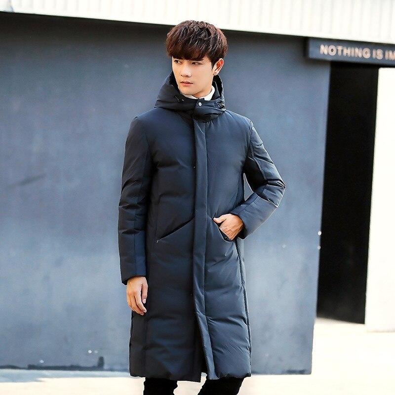 Лучший подарок, теплая куртка, зимняя, для кемпинга, черная, мужская, Толстая куртка, зарядка, одежда, китайская фабрика, размер M XXL - 2