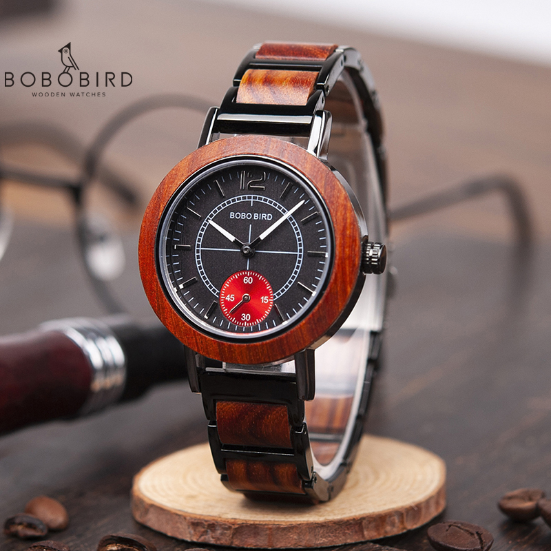 Relogio Masculino BOBO BIRD Wood Lovers' Watches Top Brand Luxury Men Watch Women Quartz Wristwatches Accept Logo Drop Shipping