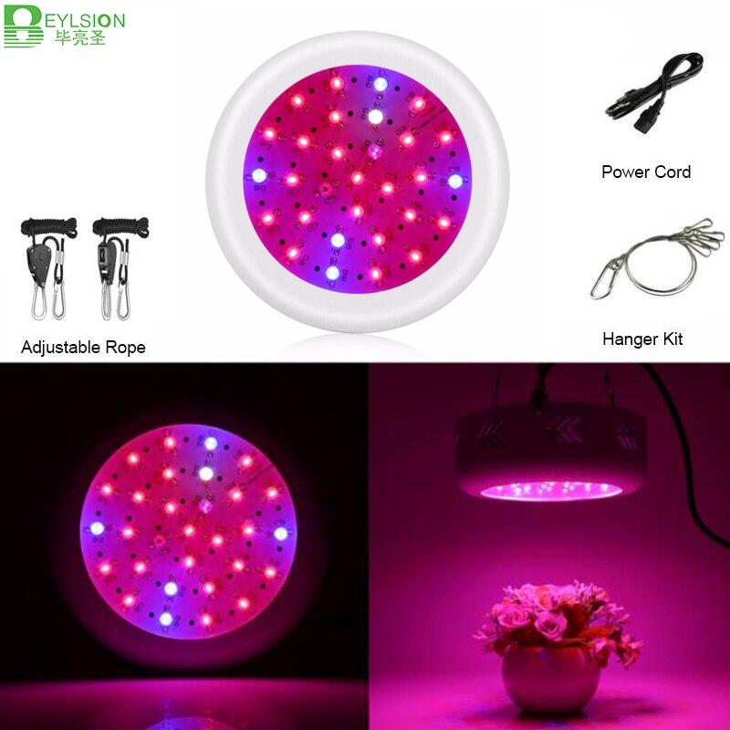 Beylsion 300 W plein spectre LED ufo plante lampe de croissance LED plantes portables serres tente système hydroponique plante poussent la lumière