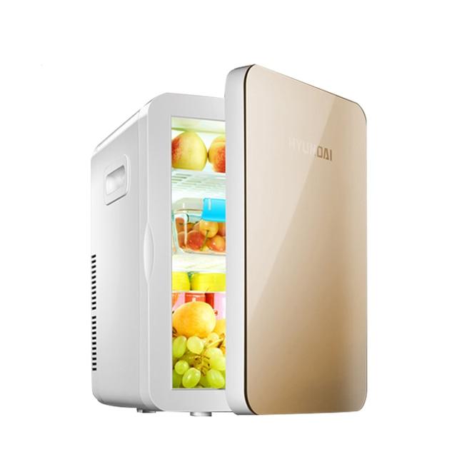 20L Auto Portable Refrigerator Mini Fridge Icebox Car Home Daul Use Freezer  Cooler Heater Digital