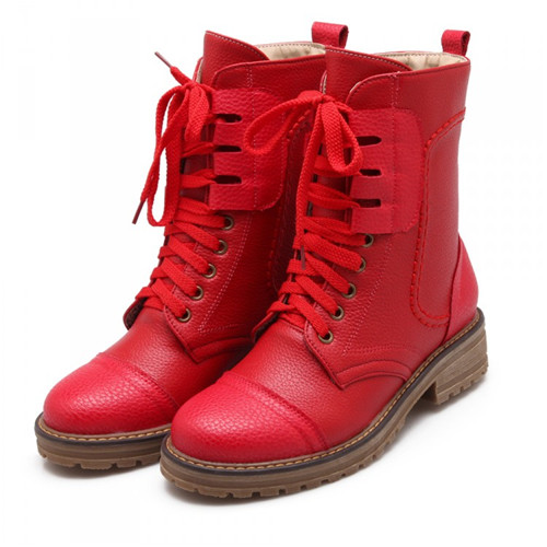 Red Combat Boots For Toddlers - Toddlers & Preschoolers