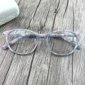 Flor da moda frames da placa o upscale feminino óculos de miopia moldura Ágata temperamento de mármore cor