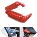 1 PCS de Alta qualidade Cinto de Segurança Do Assento de Carro da Criança de Plástico Equipada Clipe Fivela Não Slip-Resistente Anti-Clip cinta Braçadeira Clipe Vermelho