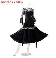 Walzer tanzkleid neue GB tanzkleid frauen ballroom dance performence kleidung eine neue swing rock