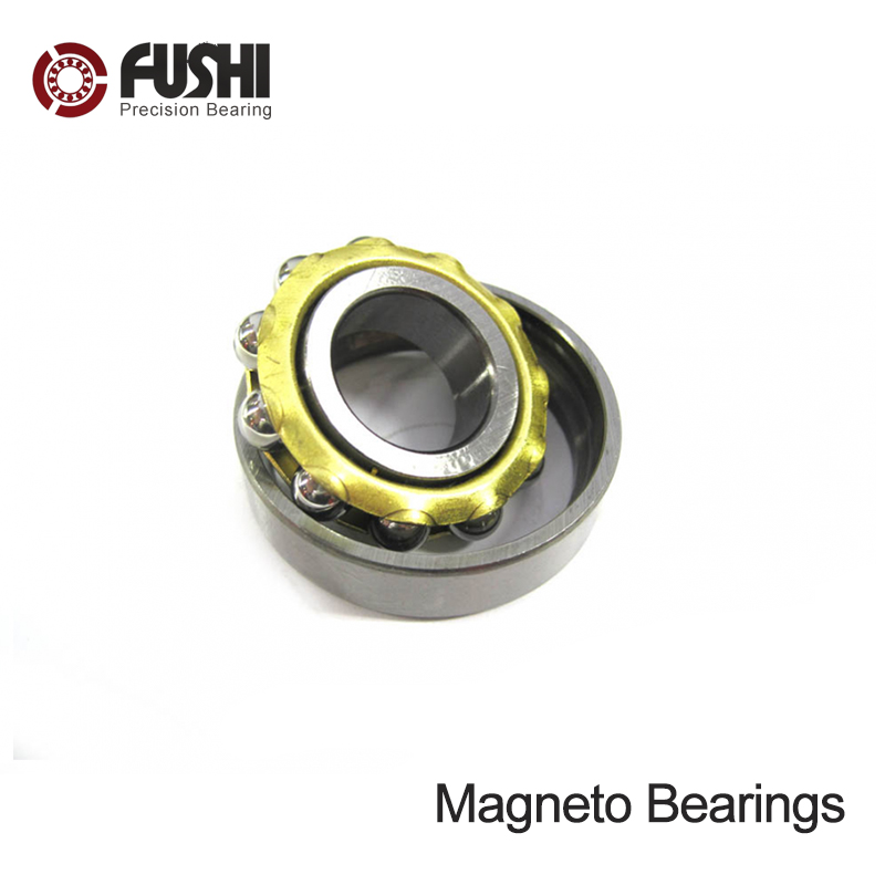 M20 Magneto Bearing 20*52*15 mm ( 1 PC ) Angular Contact Separate Permanent Motor Ball Bearings 1pcs 71822 71822cd p4 7822 110x140x16 mochu thin walled miniature angular contact bearings speed spindle bearings cnc abec 7