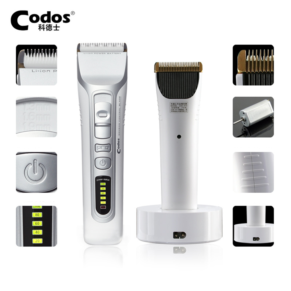 Codos Professional Electric Hair Clipper Rechargeable Hair Trimmer Hair Cutting Machine To Haircut Beard Trimmer Power