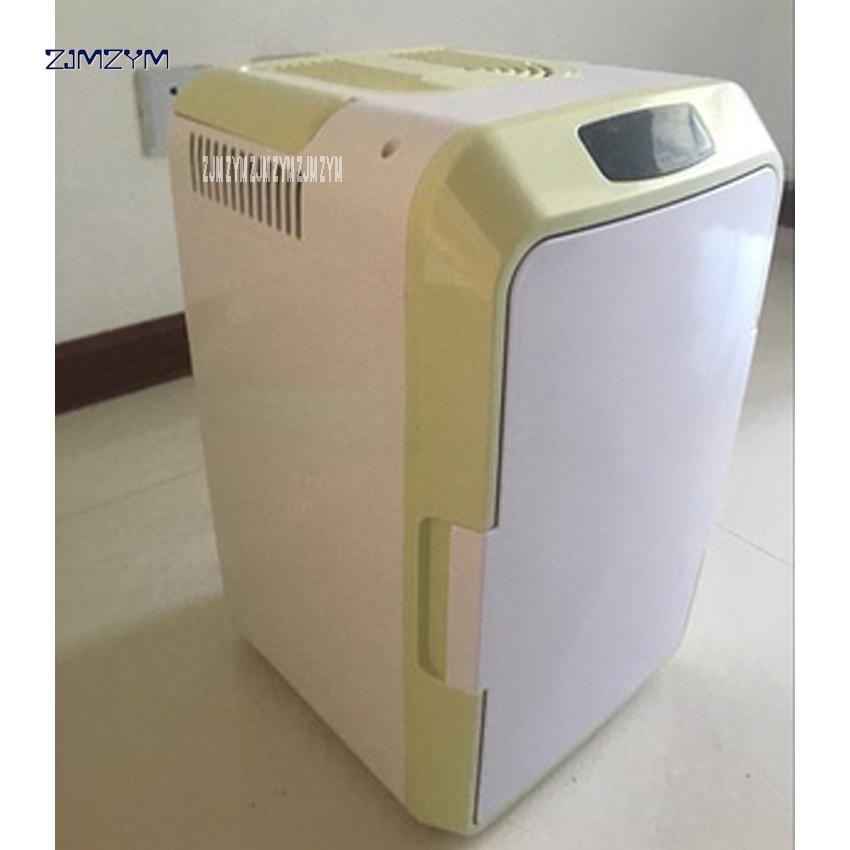 12l Mini Refrigerators Home Dormitory Car 12v Refrigerator Car Dual Refrigerating Incubator Multi-function Travel Aq-12l 220v